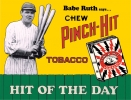 Tin Signs Babe Ruth Pinch Hit - TSN0059