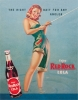 Tin Signs Red Rock Girl Fishing - TSN0288