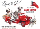 Tin Signs Texaco Rarin To Go - TSN0594