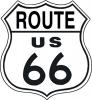 Tin Signs Route 66 Shield - TSN0679