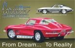 Tin Signs Corvette Stingray - TSN0694