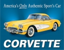 Tin Signs Chevy 58 Corvette - TSN0720