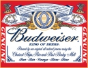 Tin Signs Budweiser - Label - TSN0979