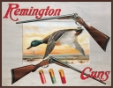 Tin Signs Remington Shotguns and Ducks - TSN1002