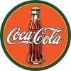 Tin Signs Coke Round 30s Bottle & Logo - TSN1069