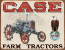 Tin Signs Case Tractor - CC High - TSN1230