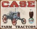 Tin Signs Case Tractor - CC High - TSN1230