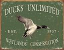 Tin Signs Ducks Unlimited -Since 1937 - TSN1388