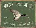 Tin Signs Ducks Unlimited -Since 1937 - TSN1388