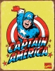 Tin Signs Captain America Retro - TSN1440