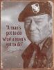 Tin Signs John Wayne Mans Gotta Do - BRK-TSN1495