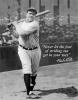 Tin Signs Babe Ruth No Fear - TSN1511
