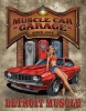 Tin Signs Legends Detroit Muscle Car - TSN1568