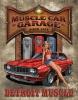 Tin Signs Legends Detroit Muscle Car - TSN1568