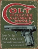 Tin Signs Colt Extra Safety - TSN1592