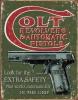 Tin Signs Colt Extra Safety - TSN1592