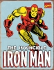 Tin Signs Iron Man Retro - TSN1650