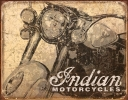 Tin Signs Indian Antiqued - TSN1724