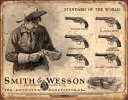 Tin Signs S&W Revolvers - TSN1743