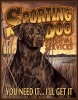 Tin Signs Sporting Dog Services - TSN1772