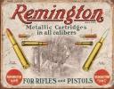 Tin Signs Remington For Rifles & - TSN1788