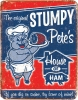 Tin Signs Stumpy Petes Ham - BRK-TSN1794