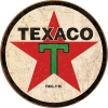 Tin Signs Texaco Round - TSN1798