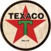 Tin Signs Texaco Round - TSN1798