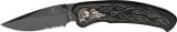 United Cutlery Nova Skull A/O Linerlock Black - UC2690S