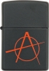 Zippo Anarchy Logo ZO20842 Windproof Lighter Red
