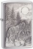 Zippo Timberwolves Chrome Windproof Lighter ZO20855