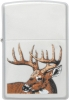 Zippo Whitetail Buck DeerZO23481Lifetime Guarantee