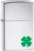 A Bit O Luck Windproof Lighter 24007 Green Shamrock