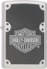 Harley Davidson Lighter Brushed Chrome Black 24025