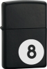 Zippo 8 Ball Mate Black Windproof Lighter 24331