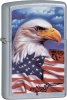 Zippo Mazzi Freedom Watch Eagle American Flag ZO24764