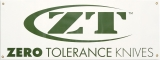 Zero Tolerance Display Banner - ZTB