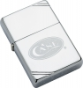 Case Logo Zippo Lighter Windproof 2 1/4 x 1 7/16