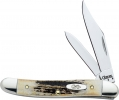 Case Medium Jack Knife Genuine Stag 52087 SS