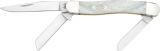 Case Cutlery Medium Stockman White Pearl - CA9318WP