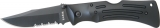 Ka-Bar MULE Lockback Partially Serr - KA3051