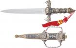 Cheap Mongolian Fantasy Dagger - M1362