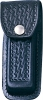 Black Leather Replacement Sheath 4 1/2 to 5 1/4 Inch