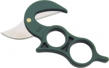 Wyoming WY1 Skinning Knife Brown Leather Belt Sheath