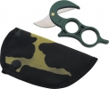 Wyoming WY2 Skinning Knife With Camo Nylon Sheath