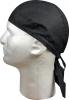 Zan Headgear Headwrap Black - Z114