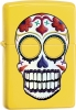 Zippo Day of the Dead Lemon lighter (model ZO24894)